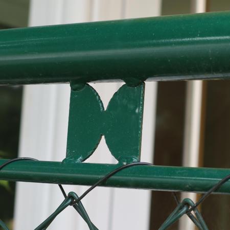 Brána Savan 3600 mm, čtyřhranné pletivo, oko, zelená, výška 2000 mm, výška 2000 mm - 2
