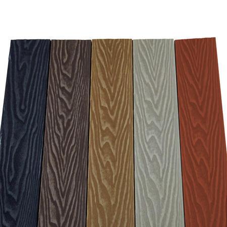 Dřevoplast WPC Premium červenohnědá rovná 85x13 mm - 2