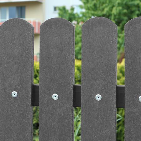Recyklát šedá půlkulatá 78x21x1000 mm, Výška 1000 mm - 2