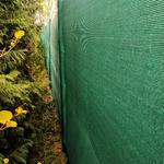Stínící tkanina 100% - 230 g/m2, zelená, role 10m - 2/3