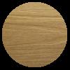 Dřevoplus profi světlý dub půlkulatá 80x15 mm na míru - 2