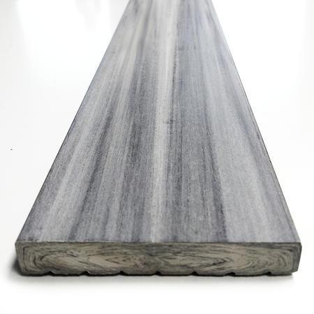 Dřevoplast WPC drážkovaná greywood rovná 70x11 mm - 3