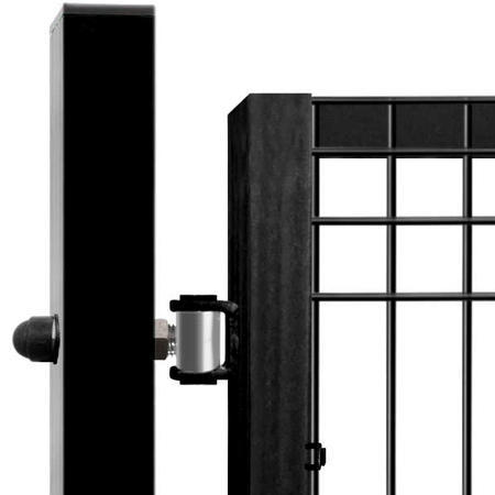 Brána Pilofor Super 4090 mm, svařovaný panel, FAB, antracit - 3