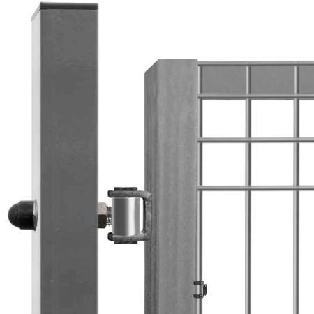 Brána Pilofor Super 4090 mm, svařovaný panel, FAB, zinek, výška 1780 mm, výška 1780 mm - 3