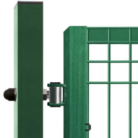 Brána Pilofor 4118 mm, svařovaný panel s prolisem, FAB, zelená - 3