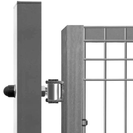 Brána Pilofor 4118 mm, svařovaný panel s prolisem, FAB, zinek, výška 1745 mm, výška 1745 mm - 3