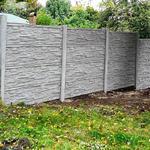 Betonový panel štípaný kámen 1-str. přírodní  200x60x4 oblouk - 3/4