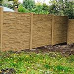 Betonový panel štípaný kámen 2-str. pískovec  2000x600x40 mm oblouk - 3/5