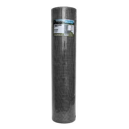 Chovatelská svařovaná síť HOBBY Zn+PVC 500, 12,7x12,7mm, drát 0,9 mm - 3