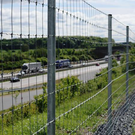 Uzlové pletivo Zn dálniční TITAN role 50 m 2100mm, 2100 mm - 3