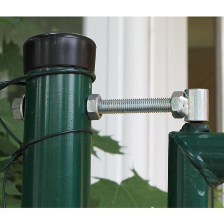 Brána Savan 3600 mm, čtyřhranné pletivo, oko, zelená, výška 2000 mm, výška 2000 mm - 3