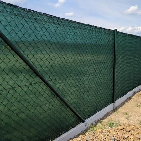 Stínící tkanina 95% - 220 g/m2, zelená, role 10m - 3