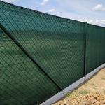 Stínící tkanina 95% - 220 g/m2, zelená, role 10m - 3/3