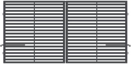Brána dvoukřídlá ARIZONA - 4