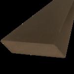 Everwood hranol šikmý 75x15 mm - 4/7
