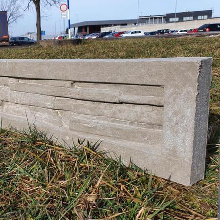 Podhrabová deska štípaný kámen 2460x200x50 mm - 4