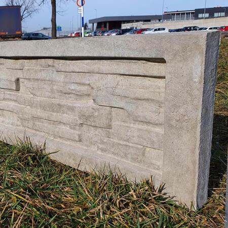 Podhrabová deska štípaný kámen 2460x300x50 mm - 4