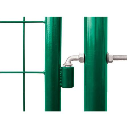Brána Solid 3605 mm, svařovaná síť, oko, zelená, ⌀ 76 mm - 4