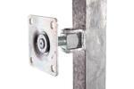 Rám brány pro vlastní výplň, výška 1800 mm s příčníkem, Výška 1800 mm s příčníkem - 4/5