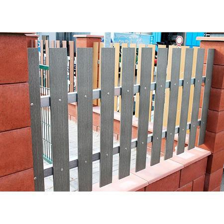 PILWOOD šedá rovná 90x15x1000 mm, Délka 1000 mm - 4