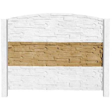 Betonový panel štípaný kámen 2-str. pískovec  2000x500x40 mm - 5