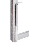 Rám brány pro vlastní výplň, výška 1600 mm bez příčníku, Výška 1600 mm bez příčníku - 5/5