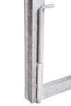 Rám brány pro vlastní výplň, výška 1500 mm bez příčníku, Výška 1500 mm bez příčníku - 5/5