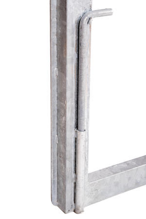 Rám brány pro vlastní výplň, výška 1600 mm s příčníkem, Výška 1600 mm s příčníkem - 5