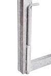 Rám brány pro vlastní výplň, výška 1600 mm s příčníkem, Výška 1600 mm s příčníkem - 5/5