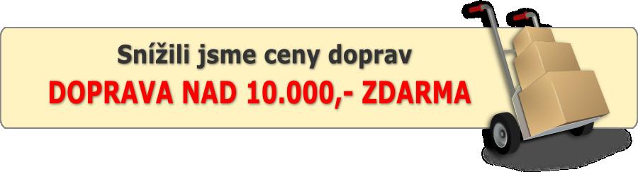 Doprava zdarma nad 10tis - České ploty