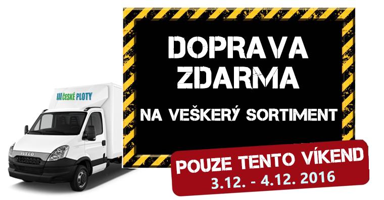 Doprava ZDARMA po celé ČR